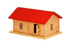 Bauernhaus mit rotem Dach Drewart 4001