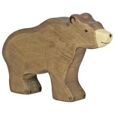 Holztiger Figur Braunbär Holztiger 80183