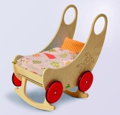 Nic Puppenwagen Holzspielzeug Nic 2651
