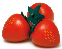 Erzi Holz Erdbeere Kaufladenzubehör Erzi 11050