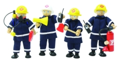Feuerwehrmänner 4 Biegepuppen Aurich OHG 88702