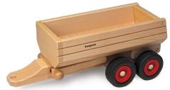 Fagus Muldenkipper-Anhänger Fagus Holzspielzeug Fagus 10.31