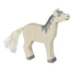Holztiger Pferd graue Mähne Holztiger 80360
