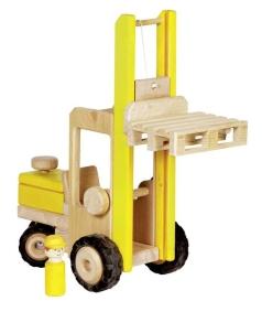 Goki Gabelstapler Holzspielzeug Goki 55938