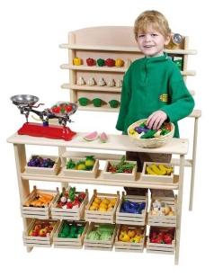 Goki Kaufladen Holzspielzeug Goki RA201