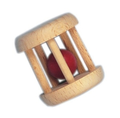 Glückskäfer Käfigrassel Holzspielzeug Glückskäfer 520075