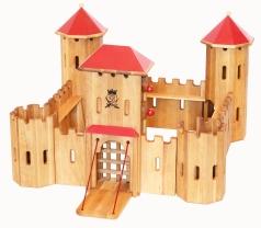 Drewart Holzspielzeug Große Ritterburg Kastell Drewart 0240