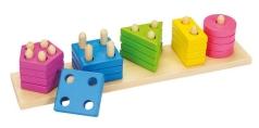 Goki Farben- und Formen Sortierspiel Goki 58927