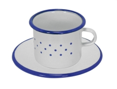 Glückskäfer Tasse mit Untertasse 530260