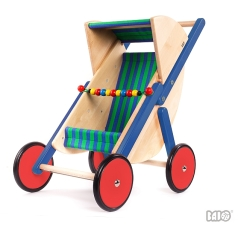 Bajo Puppenbuggy Bajo 74210 Holzspielzeug