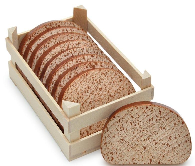 Brotscheibe Gewicht
