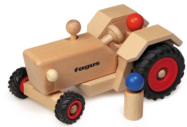 Bauernhof Holztrecker Traktor Holzspielzeug Spielzeug