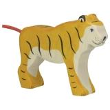 Holztiger Figur Tiger Stehend Holztiger 80136