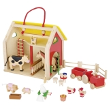 Goki Koffer Farmhaus zum Mitnehmen Goki 51916