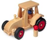Fagus Holzfahrzeug Schlepper Fagus 10.29 Holzspielzeug