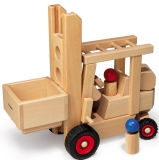 Fagus Gabelstapler Holzspielzeug Fagus 10.43