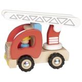 Goki Feuerwehr mit Leiterwagen Goki 55789