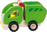 Goki Holzfahrzeug Müllwagen Goki 55964