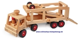 Fagus Holzspielzeug Autotransporter Fagus 10.49 Holzfahrzeug