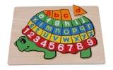Legler Puzzle ABC Schildkröte Legler 2423 Holzspielzeug