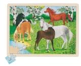 Goki Puzzle Ponyhof Goki 57894