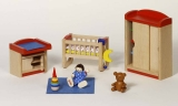 Goki Puppenhausmöbel Kinderzimmer Goki 51905