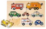Goki Puzzle Verkehrsmittel Goki 57996